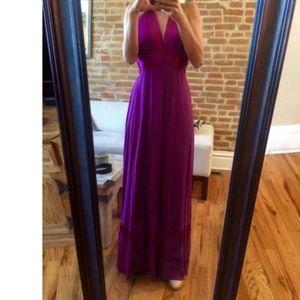 BEBE Formal Magenta (purple) Dress